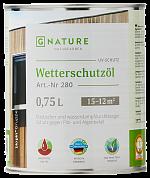 GNATURE 280 Защитное масло для внешних работ «Wetterschutzol»