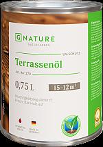 GNATURE 270 Масло для террас «Terrassenol»