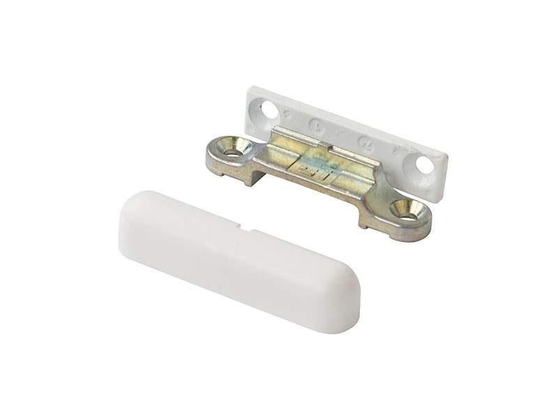 Комплект среднего прижима 0° белый RAL9003
