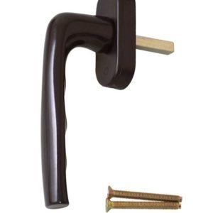 Ручка оконная Hoppe 37 мм, коричевый