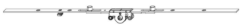 Поворотный механизм MACO 211990 Со средним расположением ручки DM15 501-700 мм
