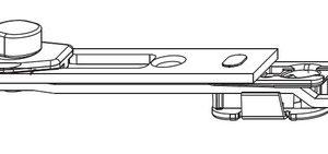 Концевой запор MACO 212689 470-1750 мм