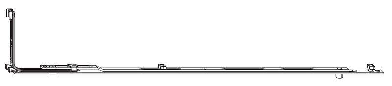 Средний запор MACO 228402 Удлиняемый FFH 2001-2200 мм