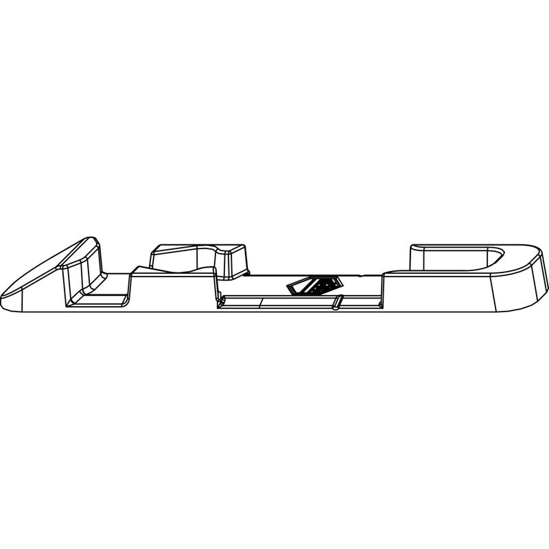 Поворотно-откидная планка MACO 33981 Фальц 18 мм
