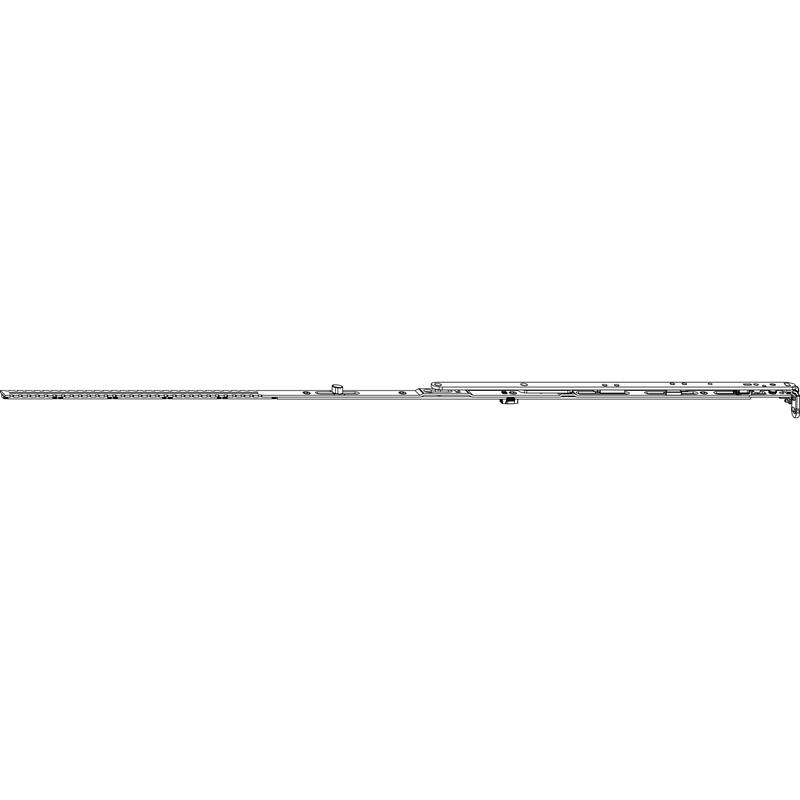 Ножницы MACO 52446 Петлевые GR 2 FFB 801-1050 мм