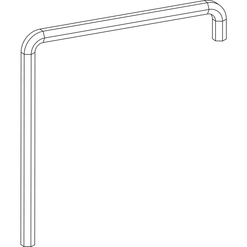 Инструмент для регулировки MACO Ключ регулировочный шестигранный 4 мм 41017