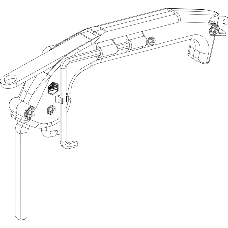 Инструмент для регулировки MACO Многофункциональный регулировочный ключ 206417