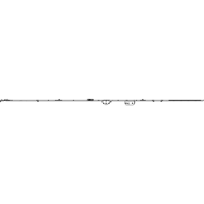Поворотно-откидной механизм MACO 52830 Фиксированный GR6 DM40 FFH 1851-2100 мм