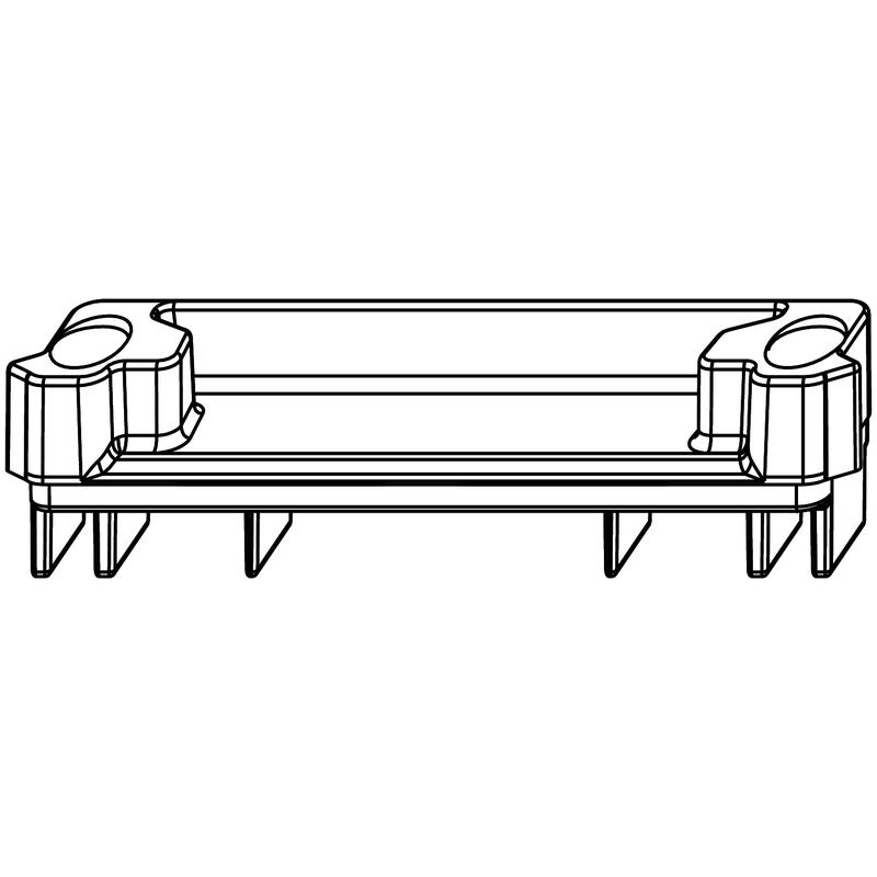 Ответная планка MACO 95075 Для приподнимателя