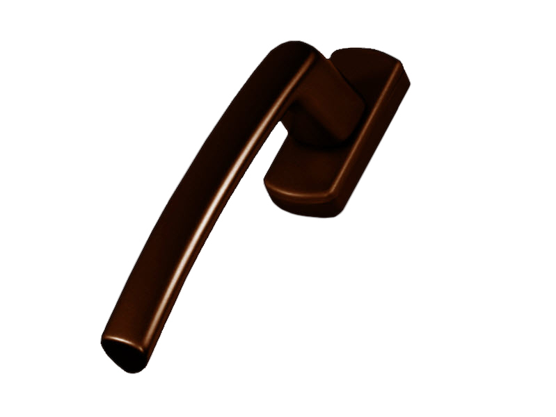 Оконная ручка MACO Harmony 51856 штифт 35 мм коричневая