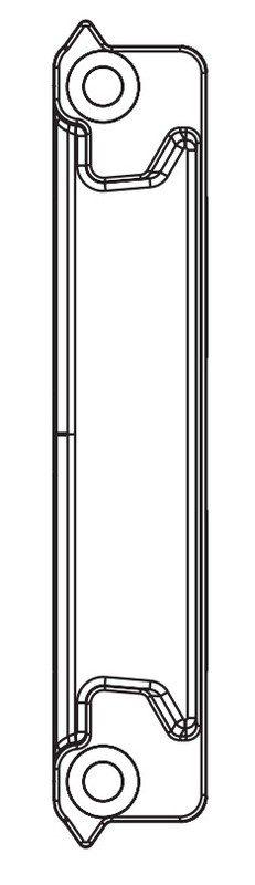 Ответная планка MACO 95136 Для приподнимателя 13 мм Thyssen