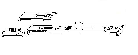 Концевой запор MACO 10538 Верхний 90°