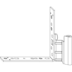 Нижняя петля MACO 52706 на створке правая 1218-9 - 100 кг (attach1 11993)