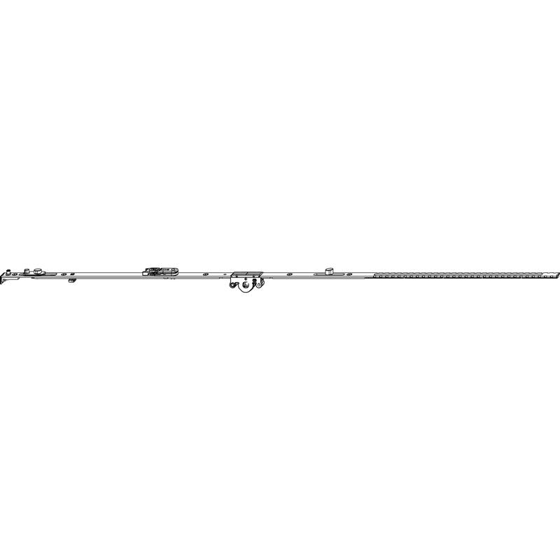 Поворотно-откидной механизм MACO 52407 фиксированный FFH 1501-1750 мм