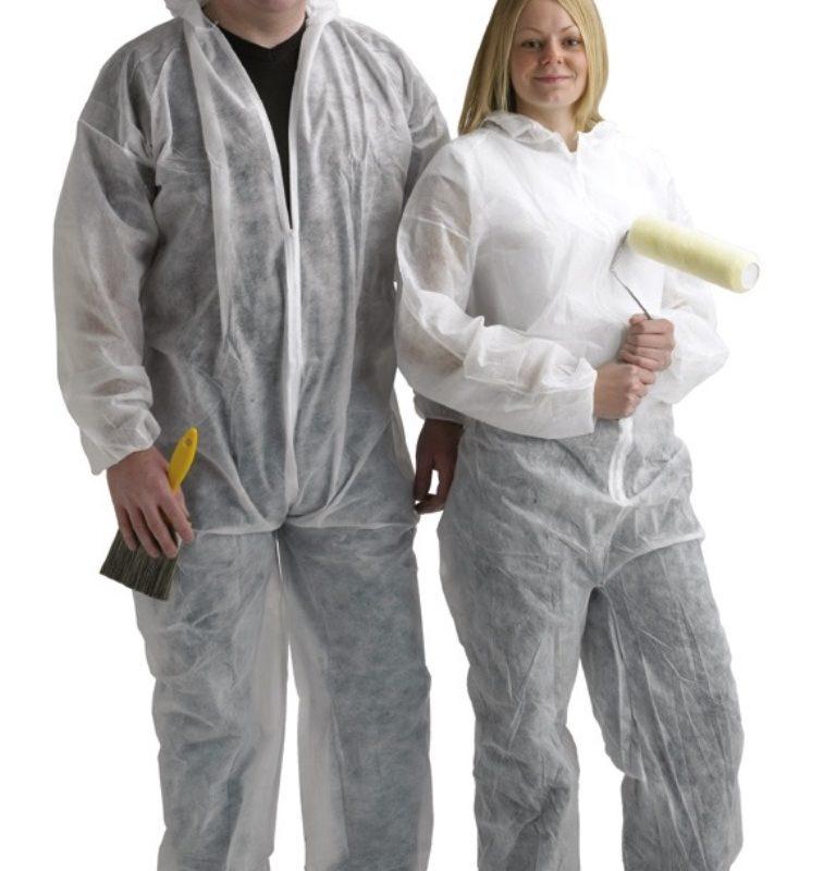 Одноразовые защитные костюмы HARRIS, TASKMASTERS, экстра большой