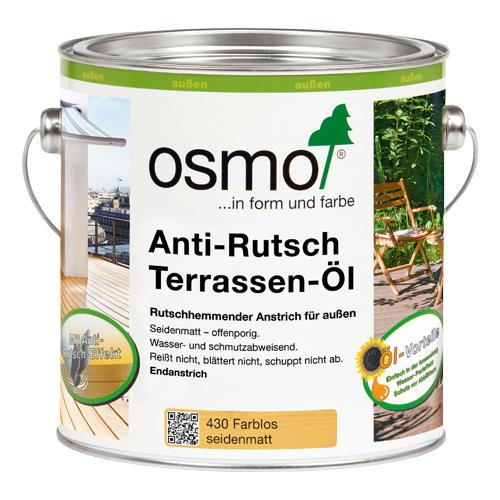 Масло для террас OSMO с антискользящим эффектом