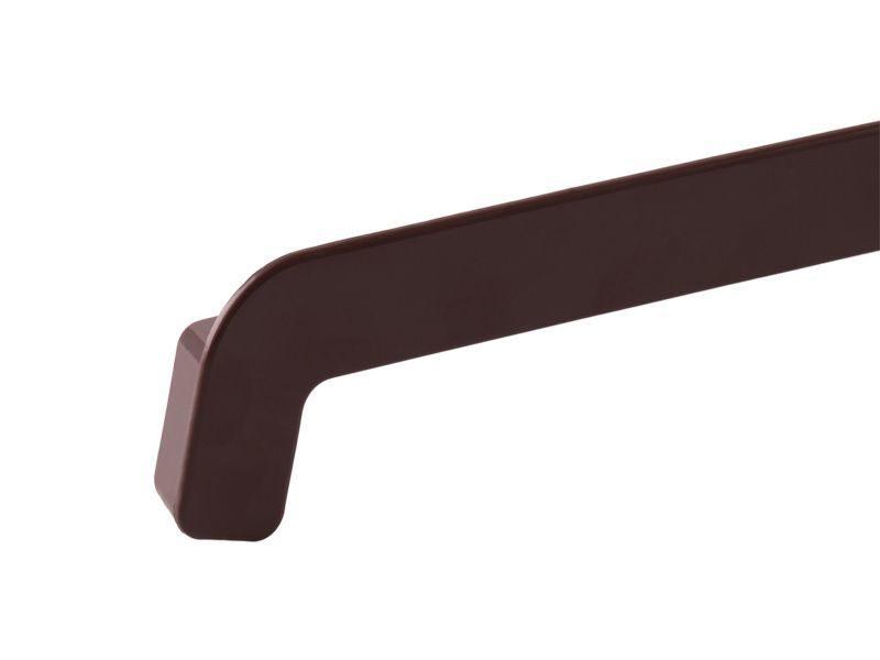 Накладка НСЛ торцевая 2-х сторонняя 25/380мм коричневый