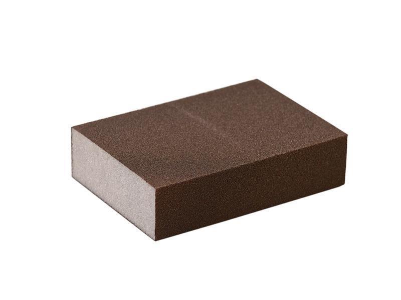 Блок шлифовальный зерно Р150 98х69х26мм ZF(мягкий)