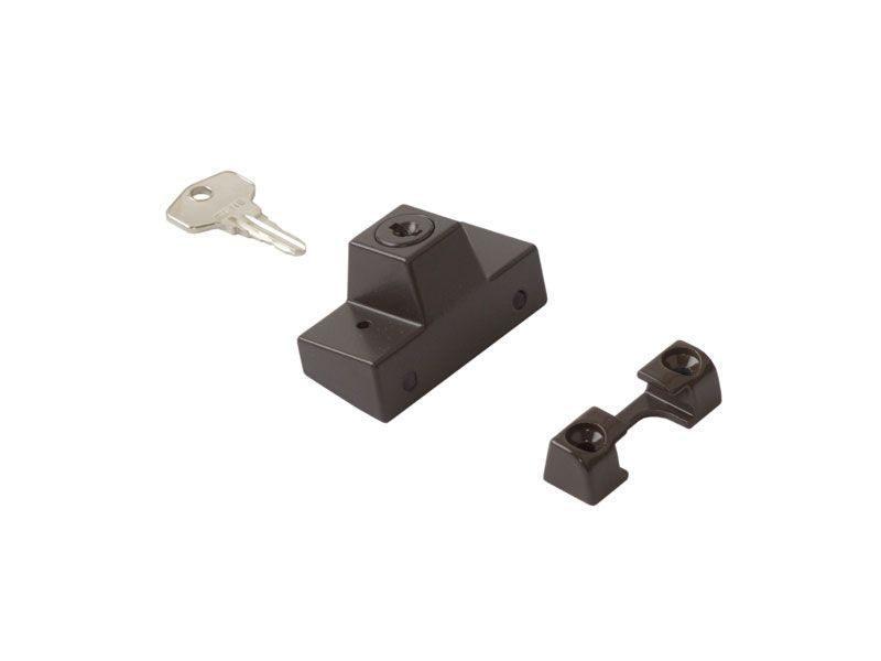 Блокиратор с ключом SIEGENIA (детский замок), коричневый