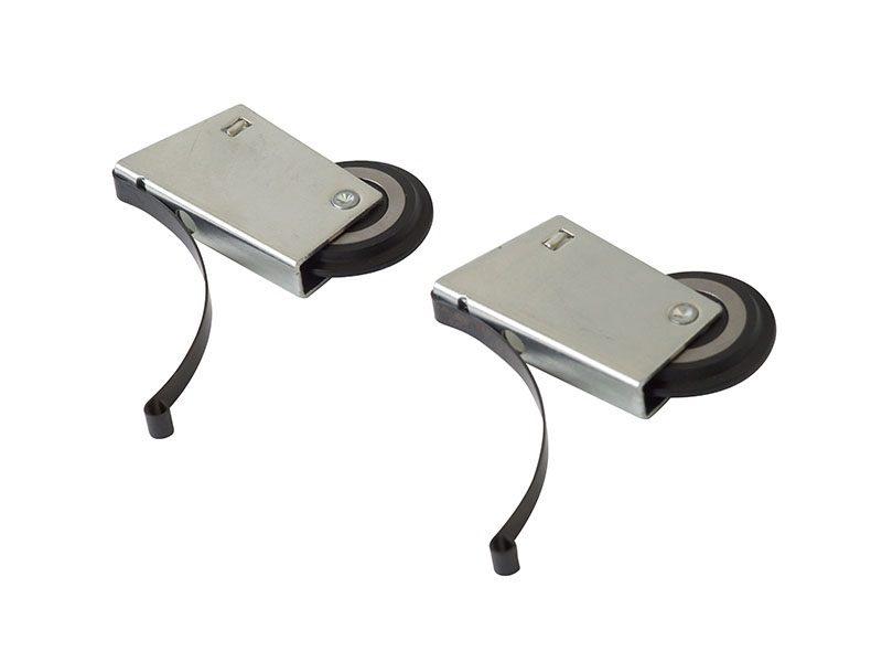 FIRMAX Комплект роликов на асимметричную дверь (2+2)