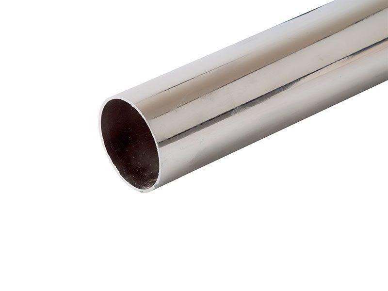 FIRMAX Штанга круглая 25мм, L=3000 мм, толщина 0.7мм, хром сталь