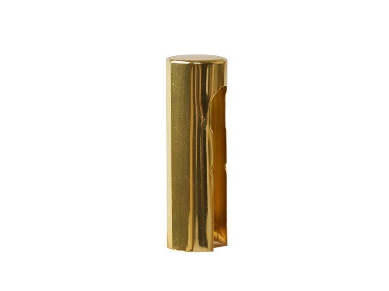 Колпачок декоративный ELEMENTIS d14, латунь полированная, алюминиевый