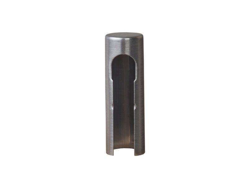 Колпачок декоративный ELEMENTIS d14 никель матовый, алюминиевый