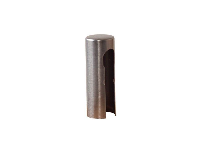 Колпачок декоративный ELEMENTIS d16, никель матовый, алюминиевый