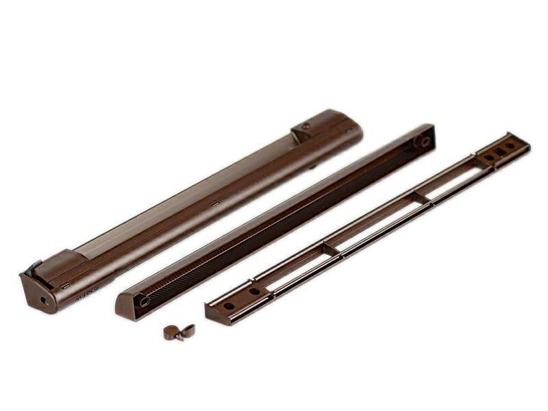 Комплект: клапан приточный EMM, 5-35 м3/ч, козырек ASAM, тик RAL8017, EMM739