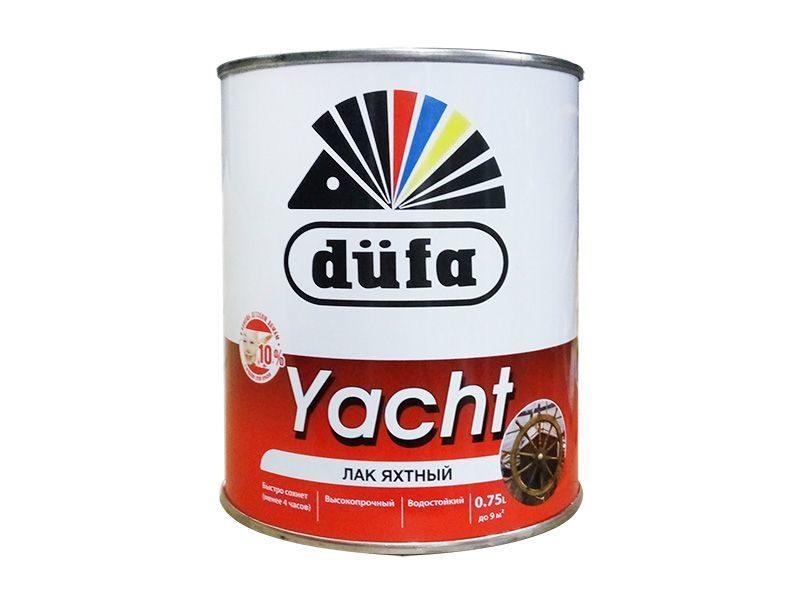 """Лак яхтный """"Dufa Retail"""" YACHT глянцевый 750мл"""