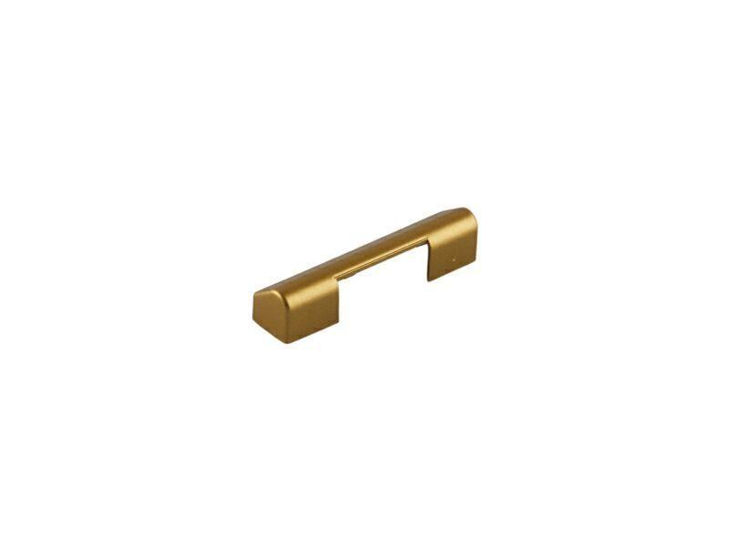 Накладка среднего прижима рамная, золото матовое