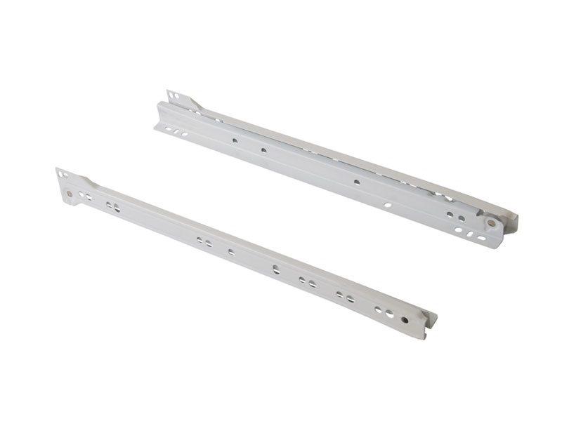 Роликовые направляющие Firmax 350мм, белый (4 части)