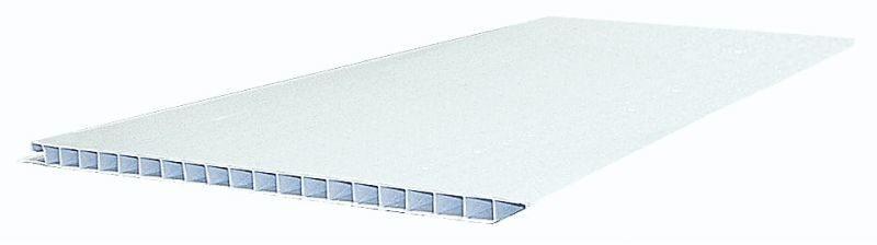 Панель ПВХ Bauset TPL 3000 х 250 х 10мм белая матовая