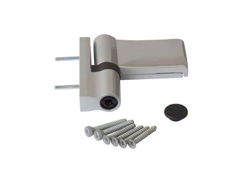 K306S0001 Петля Maxbar KT-V наплав 15-20мм, серебро
