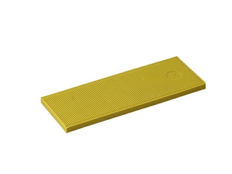Пластина рихтовочная Bistrong 100x24x4 желт. (от.)
