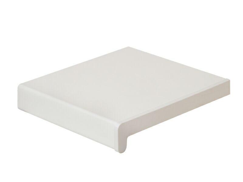 Подоконник пластиковый BDK-40 100мм, белый матовый