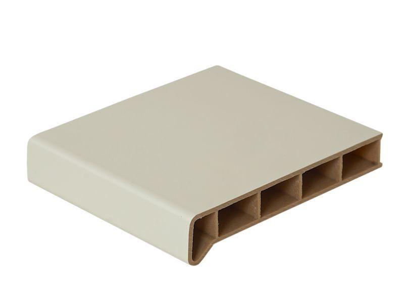 Подоконник пластиковый Moeller 200мм, белый матовый