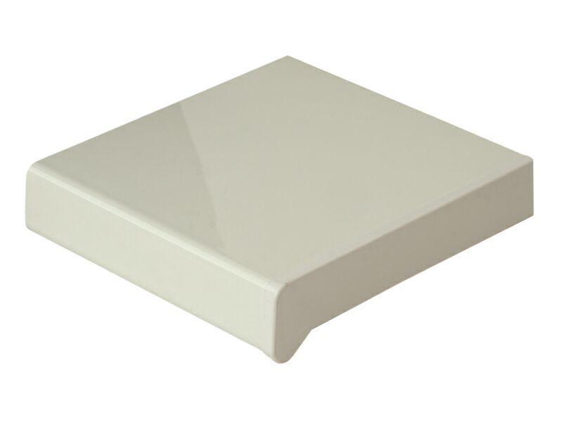 Подоконник пластиковый Moeller 200мм, белый глянцевый
