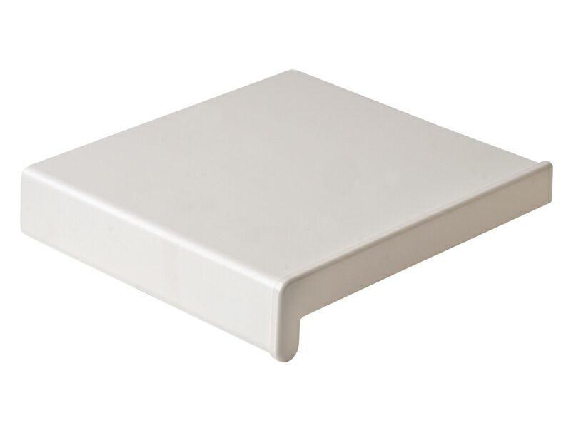 Подоконник пластиковый Витраж 450мм, белый матовый