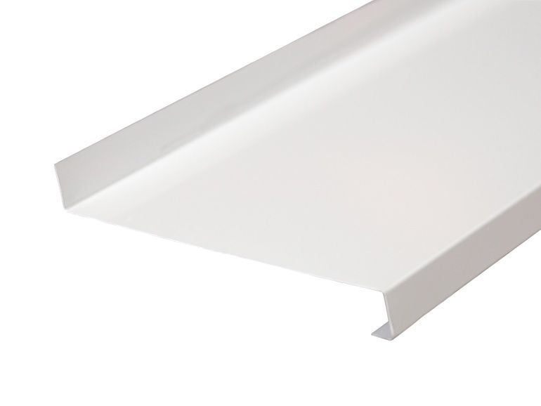 Отлив оконный BAUSET стальной 320 мм белый, 6м