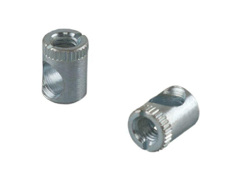 BO05 Стяжка коническая, D=10мм, L=14мм, М6, сталь, цинк. покр.
