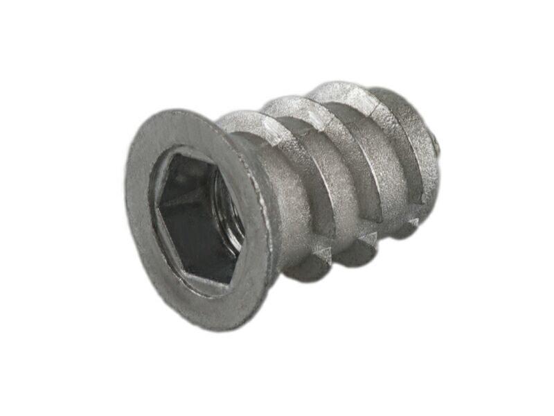 BU01 Муфта M6, D=9,5 мм, L-13 мм, цинк