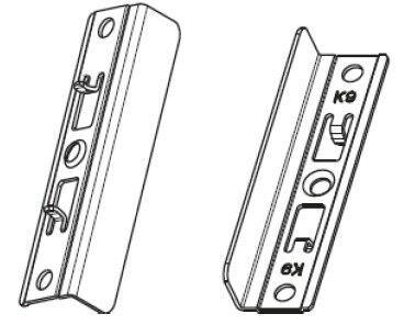 Балконная защелка магнитн. на раме со штифтом FT30 NT