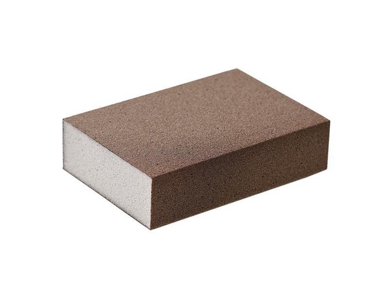 Блок шлифовальный зерно P150 98x69x26мм PF (жесткий)