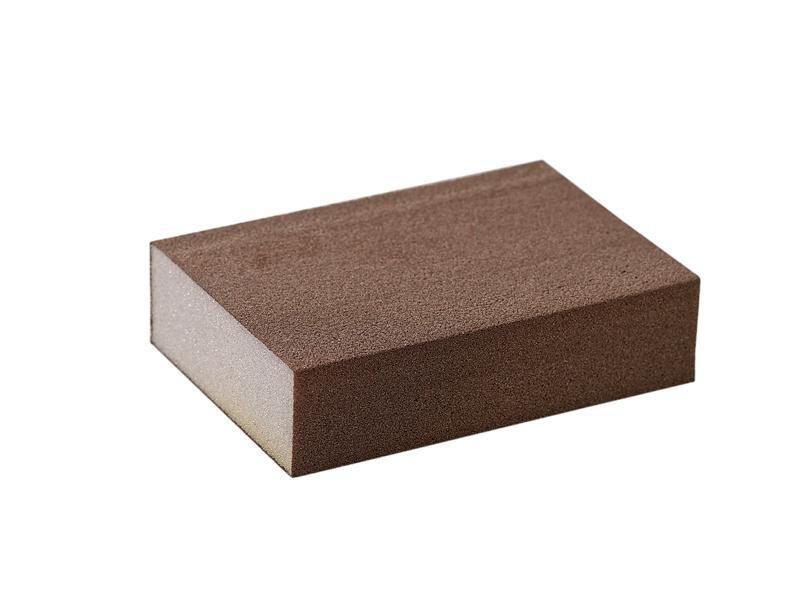 Блок шлифовальный зерно P180 98x69x26мм ZF(мягкий)