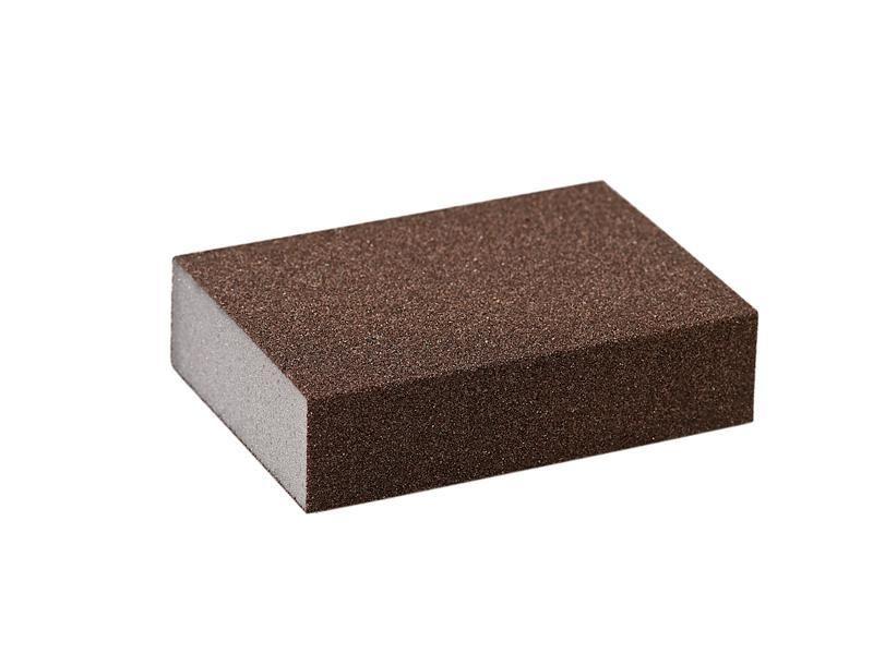 Блок шлифовальный зерно P60 98x69x26мм PF (жесткий)