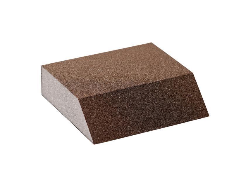 Блок шлифовальный Flexifoam Angle Block 98x86x26мм Р100