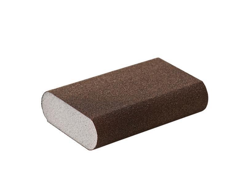 Блок шлифовальный Flexifoam Round Block 98x69x26мм Р100