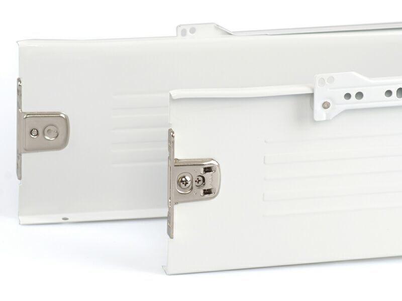 Боковины Firmax на роликовых направляющих, H=150 мм, L=250мм, белый (4 части)