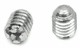 GR06 Винт стяжки конич., М6, L=8мм, сталь, цинк. покр.